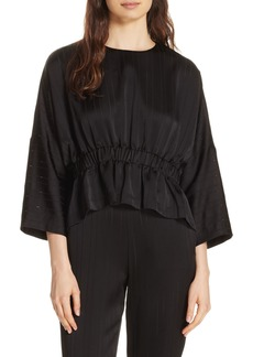 Ted Baker London Kimilla Bell Sleeve Crop Top