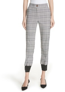 Ted Baker London Ted Working Title Kimmt Check Plaid Trousers