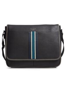 Ted Baker London Kingcol Faux Leather Messenger Bag