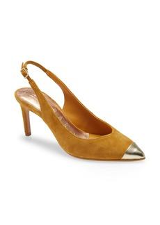 Ted Baker London Kinnip Pointed Toe Slingback Sandal (Women)