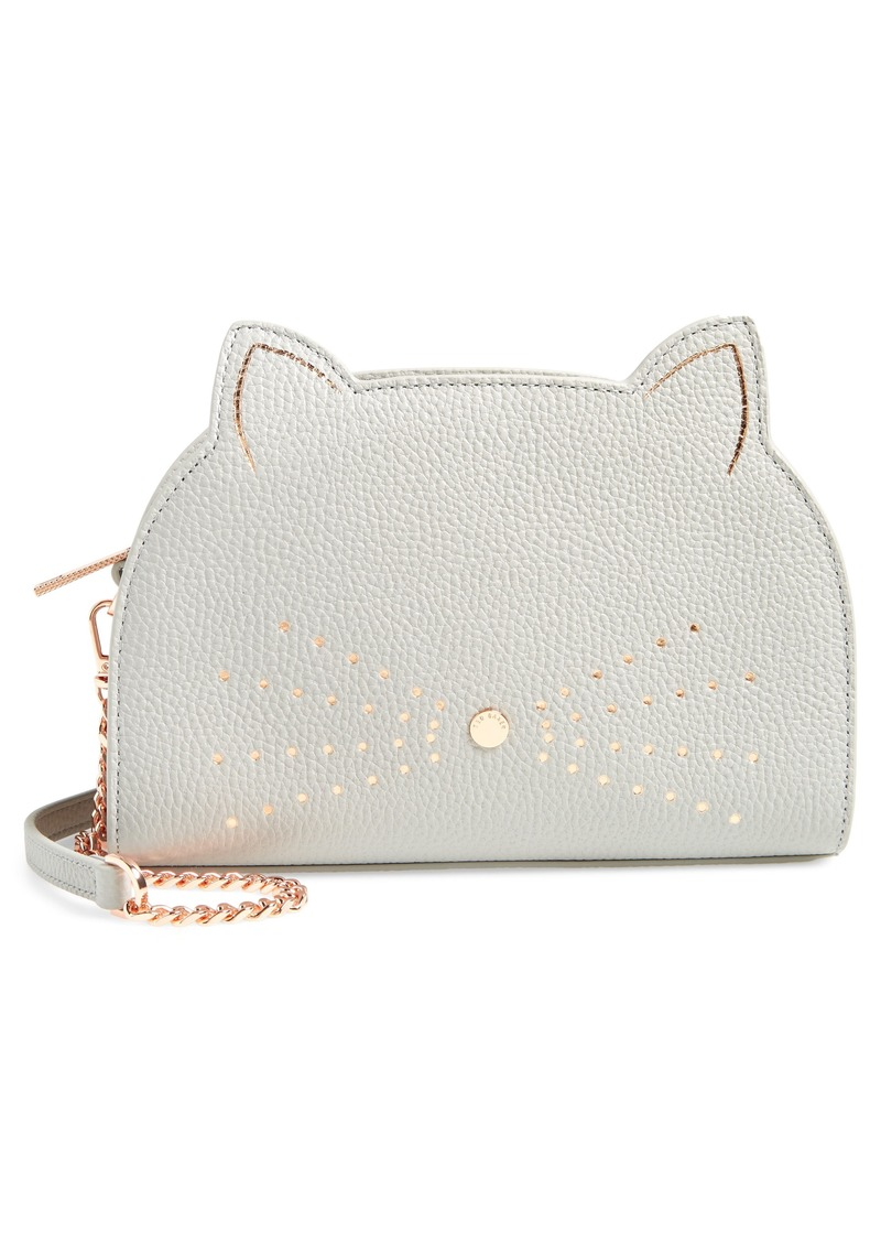 c843d428c Ted Baker Ted Baker London Kirstie Cat Leather Crossbody Bag