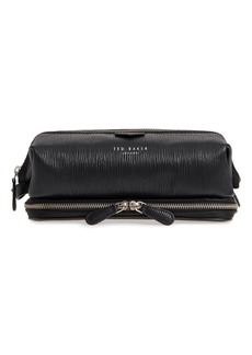 Ted Baker London Kitter Leather Dopp Kit