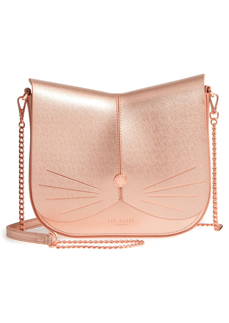 Ted Baker Ted Baker London Kittii Cat Leather Crossbody Bag  cd1dd3b4fb114