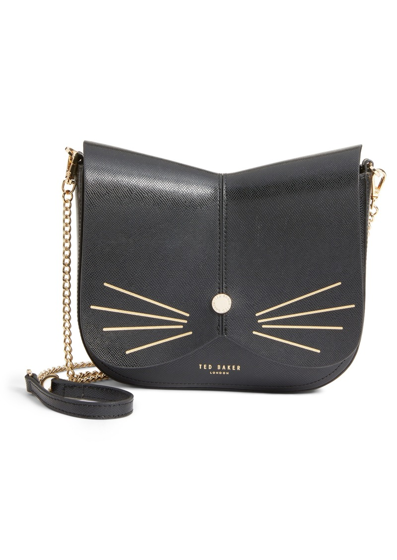 d8cec587ab21 On Sale today! Ted Baker Ted Baker London Kittii Cat Leather ...