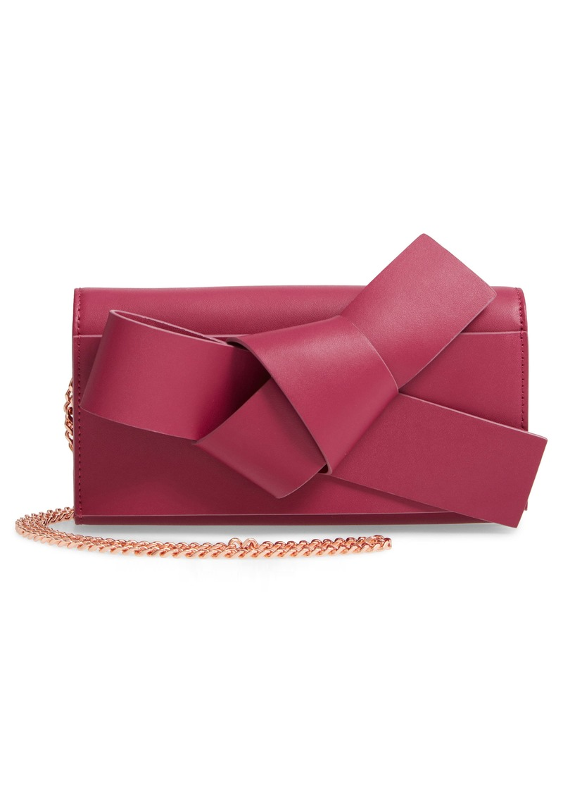 Ted Baker London Knot Detail Wallet on a Chain