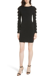 Ted Baker London Knotted Sleeve Body-Con Dress