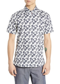 Ted Baker London Kolar Slim Fit Print Sport Shirt