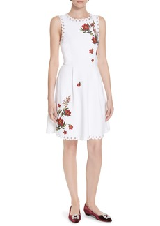 Ted Baker London Kristil Kirstenbosch Skater Dress