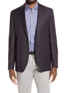 Ted Baker London Kyle Trim Fit Solid Wool Sport Coat
