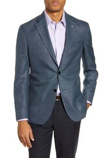 Ted Baker London Kyle Trim Fit Solid Wool Sport Coat