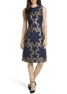 Ted Baker London Kyoto Fit & Flare Dress
