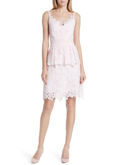 Ted Baker London Lace Peplum Dress