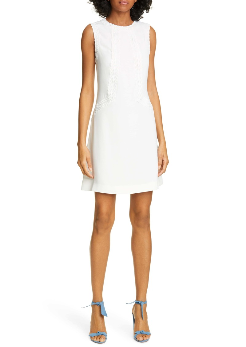 Ted Baker London Sieera Lace Trim Sheath Dress