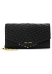 Ted Baker London Laiiney Quilted Wallet on a Chain