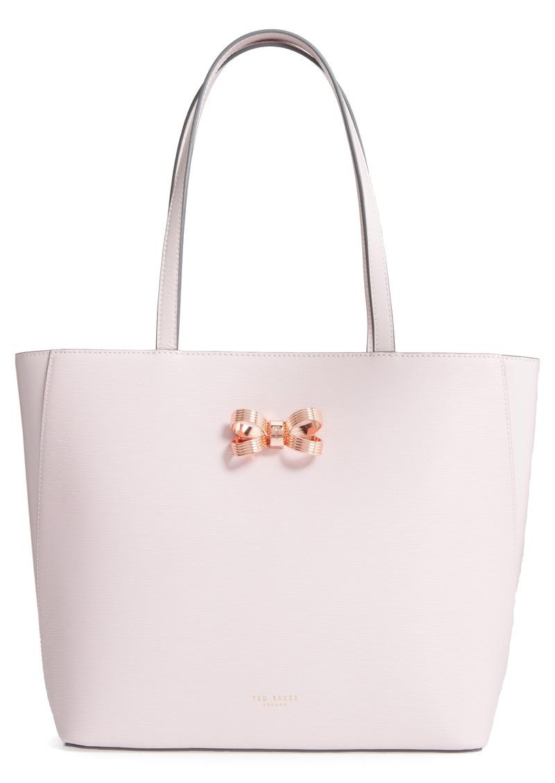 8ade6aaaa Ted Baker Ted Baker London Larah Looped Bow Leather Shopper | Handbags
