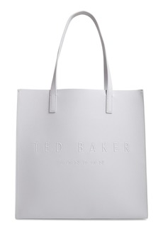 Ted Baker London Large Soocon Embossed Logo Icon Tote