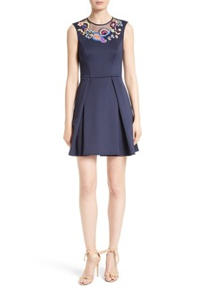 Ted Baker London Lavensa Fit & Flare Dress