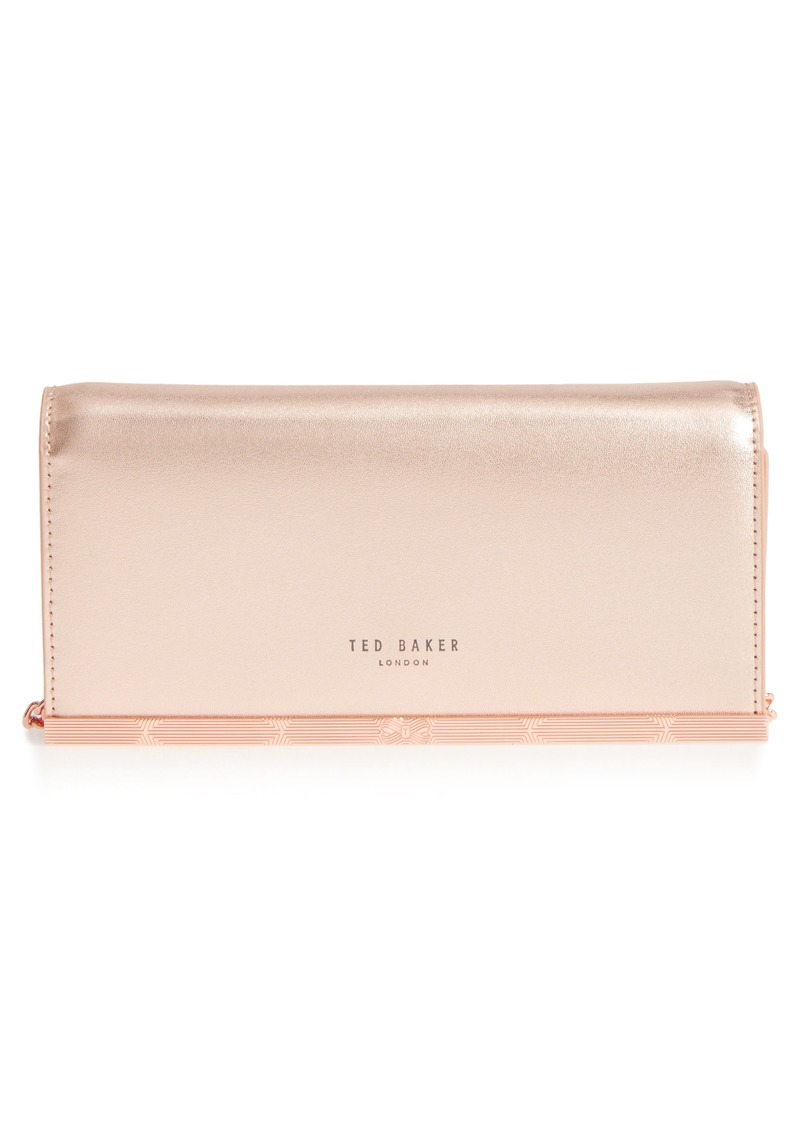 200dccdc4 Ted Baker Ted Baker London Leather Matinée Wallet on a Chain   Handbags