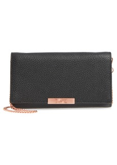 Ted Baker London Leather Wallet on a Chain