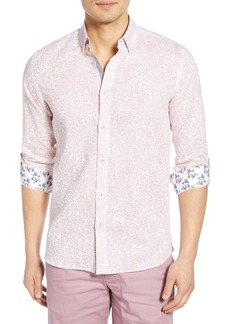 Ted Baker London Leemar Slim Fit Floral Sport Shirt