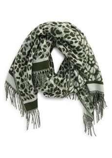 Ted Baker London Leopard Scarf
