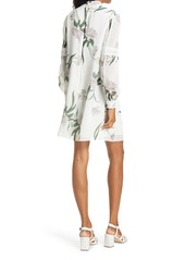 Ted Baker London Leyora Lace Long Sleeve Dress