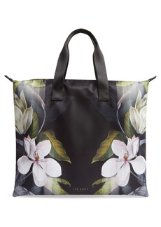 Ted Baker London Lilaacopal Foldaway Shopper Tote & Pouch