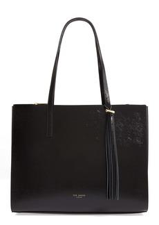 Ted Baker London Lilaah Tassel Leather Shopper