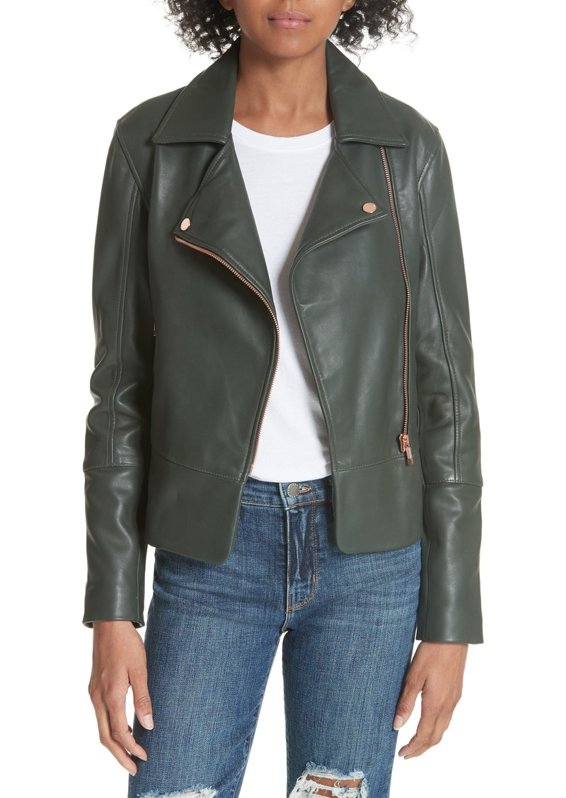 74b27d8395bb59 Ted Baker Ted Baker London Lizia Biker Jacket