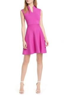Ted Baker London Lliliee Sleeveless Knit Skater Dress