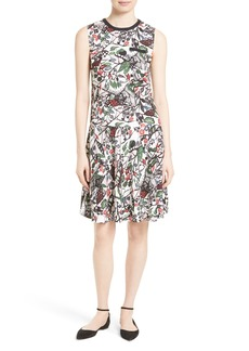 Ted Baker London Lockett Bias Cut Drop Waist Dress