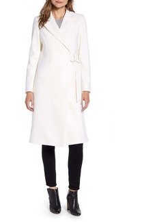 Ted Baker London Dezpina Long D-Ring Wrap Coat