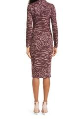Ted Baker London Long Sleeve Bodycon Dress
