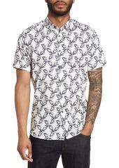 Ted Baker London Lonpalm Print Sport Shirt