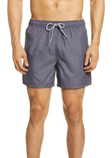 Ted Baker London Loother Slim Fit Swim Trunks