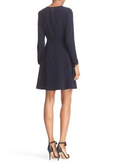 3c30bdedc04252 Ted Baker Ted Baker London  Loozy  Long Sleeve Tie Neck Fit   Flare ...