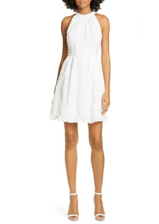 Ted Baker London Lorene Embroidered Skater Minidress
