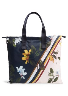 Ted Baker London Los Anasavanna Foldaway Shopper Tote
