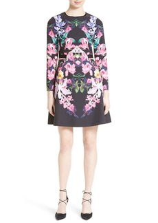 Ted Baker London Lost Garden Fit & Flare Dress