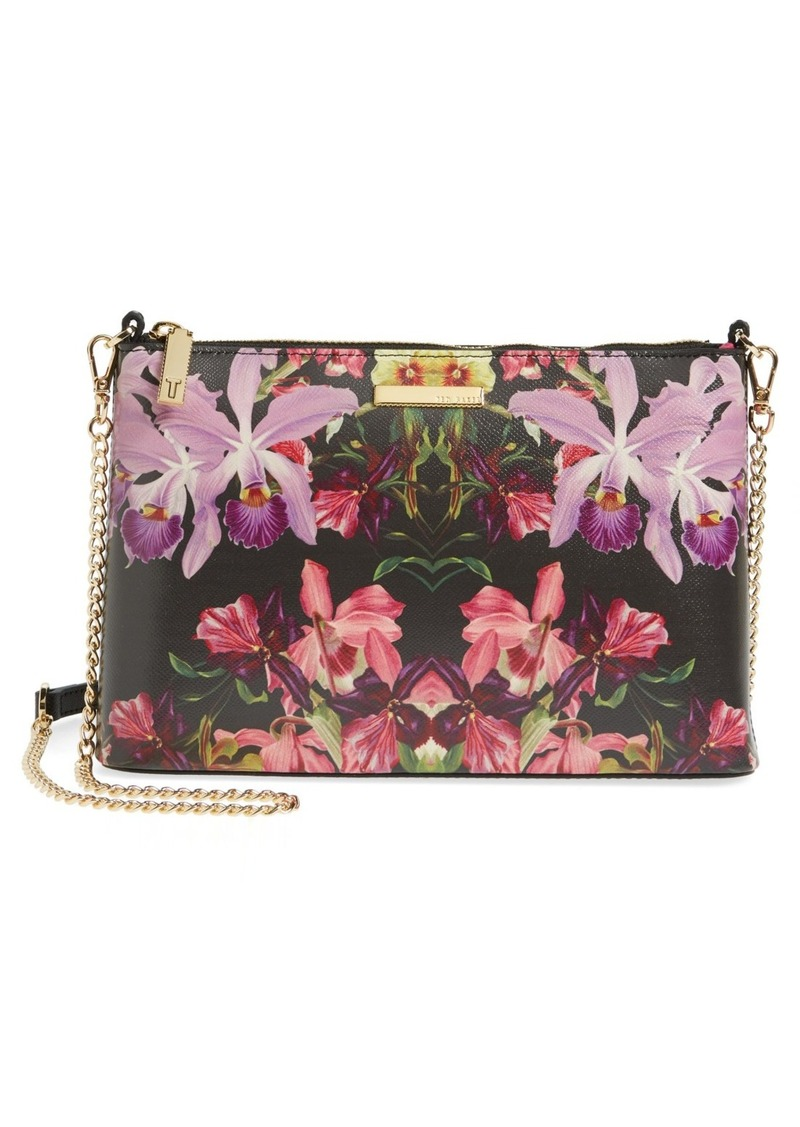 1c25353748ed4 Ted Baker Ted Baker London Lost Gardens Leather Crossbody Bag