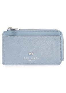 Ted Baker London Lotta Bow Detail Leather Card Holder