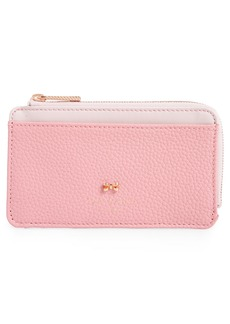 Ted Baker London Lotta Bow Leather Card Case