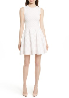 Ted Baker London Lowrel Jacquard Skater Dress