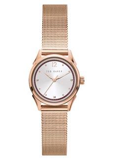 Ted Baker London Luchiaa Mesh Strap Watch, 27mm