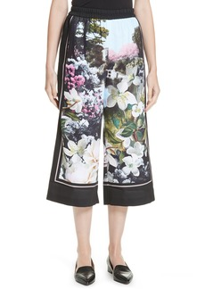Ted Baker London Lulla Windermere Crop Trousers