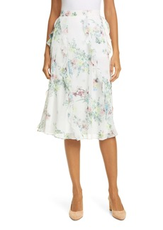 Ted Baker London Lurissa Pergola Floral Ruffle Skirt