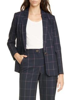 Ted Baker London Luunnat Check Suit Jacket