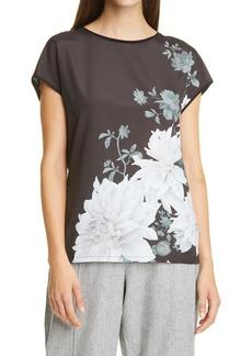 Ted Baker London Luweii Clove Floral Top