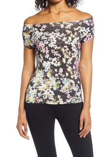 Ted Baker London Lyroon Off the Shoulder T-Shirt