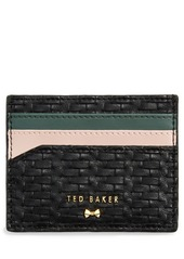 Ted Baker London Mabes Faux Leather Card Holder